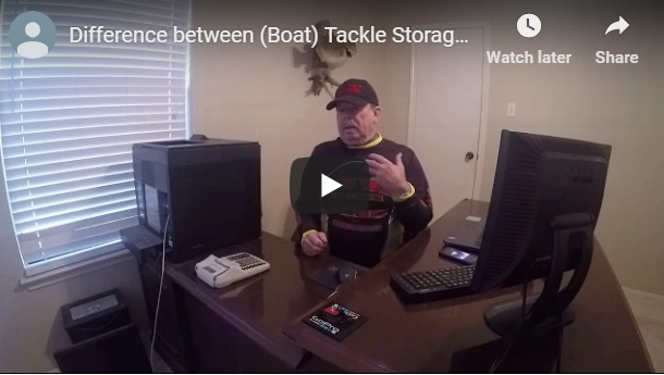 the difference between tackle storage and tackle management systems